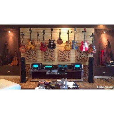 Paneles acusticos de madera para sala de musica hi-end