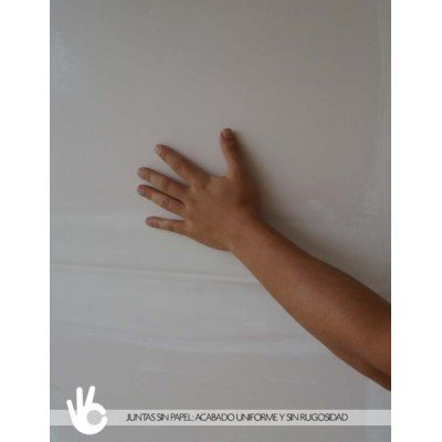 InsulMur panel acustico de insonorizacion con acabado liso listo para pintat