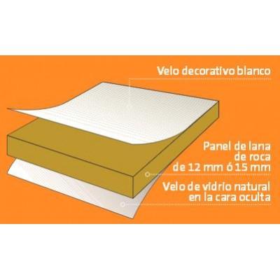 placa anti ruidos para techo registrable