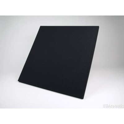 Regular panel 60.2 Pure Dark Black. Panel Acustico de espuma acustica coloreada