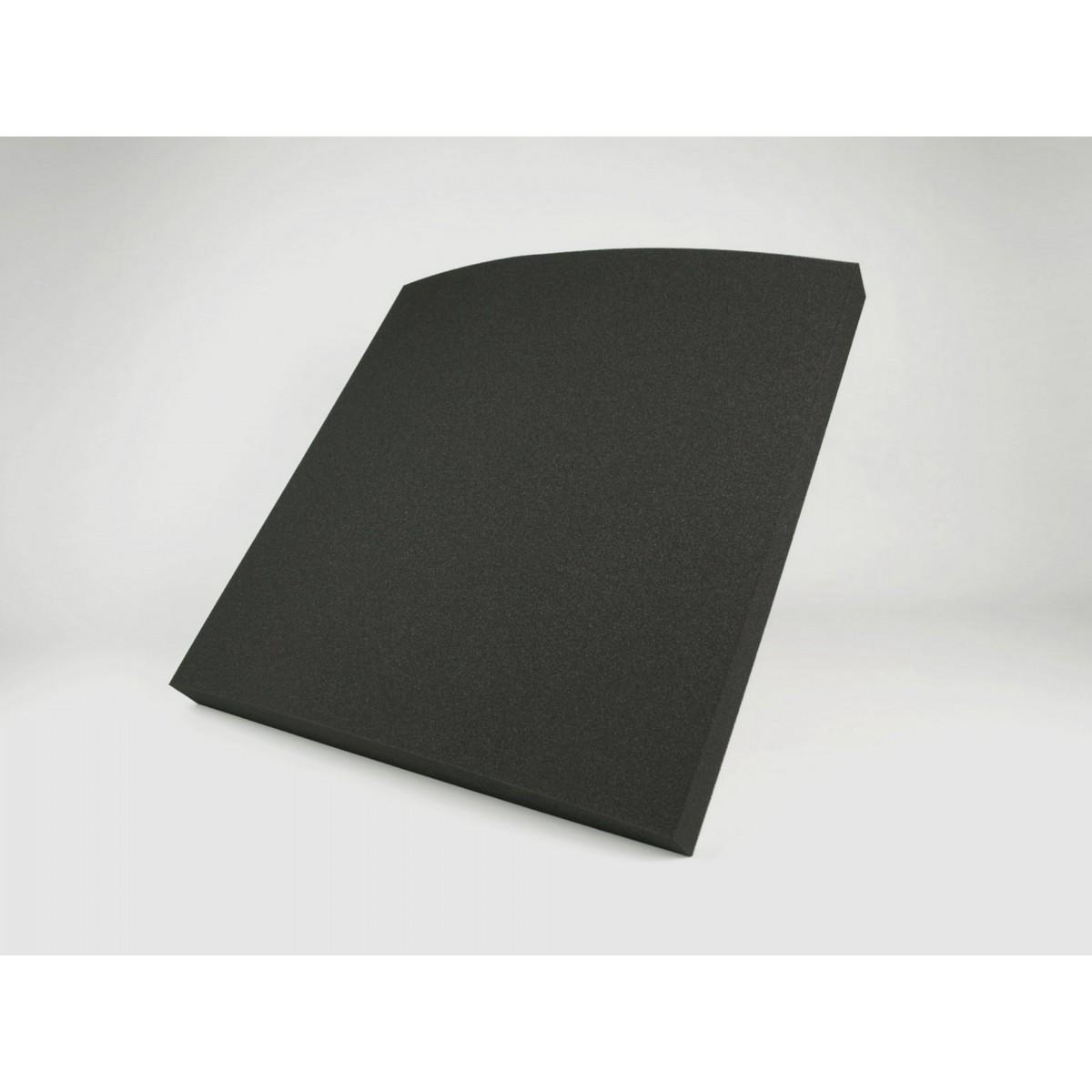 Eliacoustic curve pure dark grey