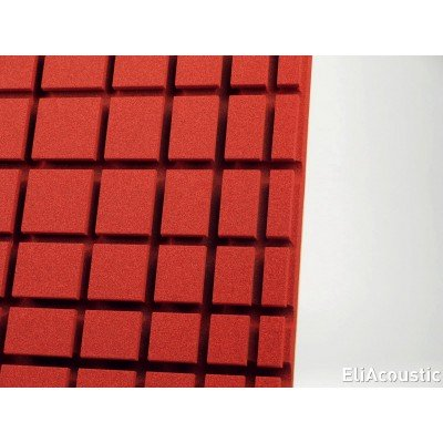 Panel Acustico EliAcoustic Radar Pure Red