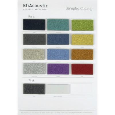 EliAcoustic Carta de Colores Pure para Paneles Acusticos