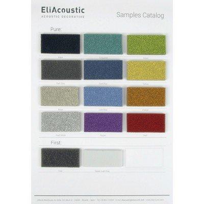 Muestrario de colores Pure de EliAcoustic