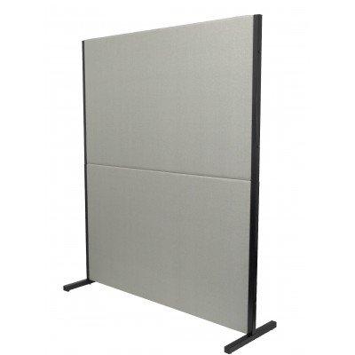 biombo acustico textil gris claro