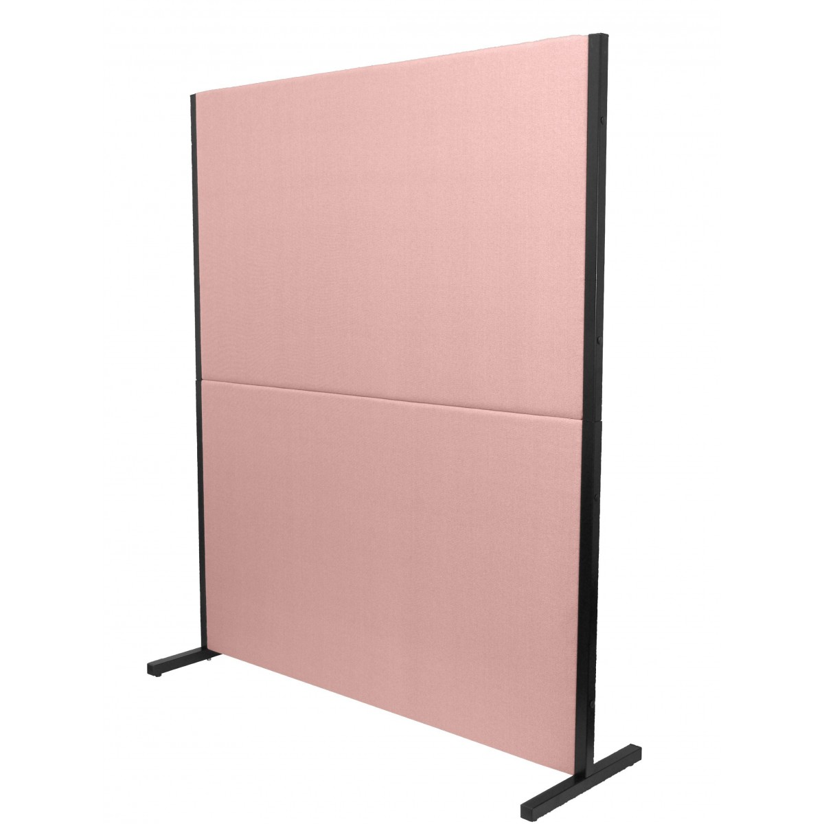biombo acustico textil rosa
