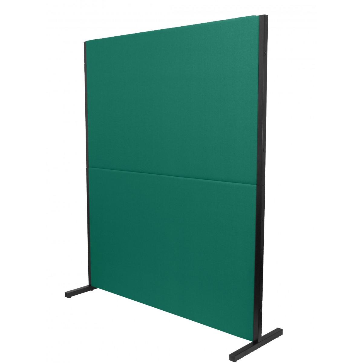 biombo acustico textil verde