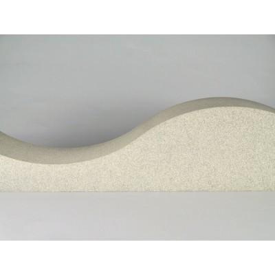 detalle del panel acustico eliacoustic Surf Pure Beige