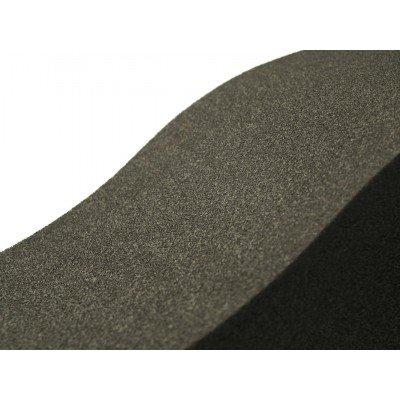 detalle del panel eliacoustic surf pure black