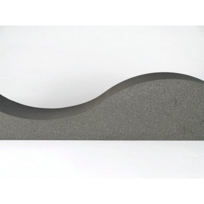 detalles de panel acustico eliacoustic surf pure dark grey