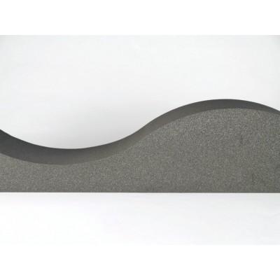 detalles de panel acustico eliacoustic surf pure dark grey