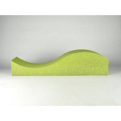 paneles acusticos para home studios Eliacoustic Surf Pure Green
