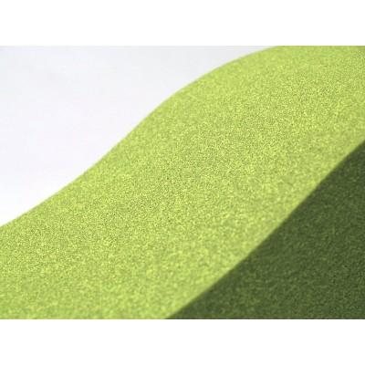 Color y textura de los paneles acusticos fonoabsorbentes EliAcoustic Surf Pure Green