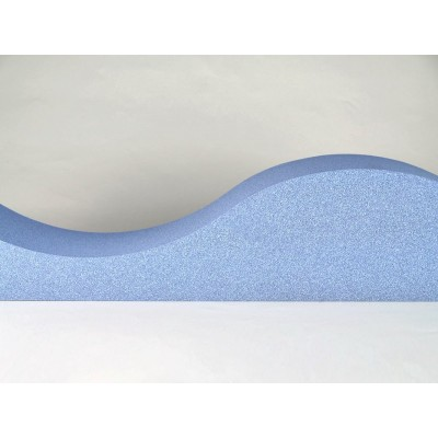 detalles de paneles acusticos EliAcoustic Surf Pure Light Blue