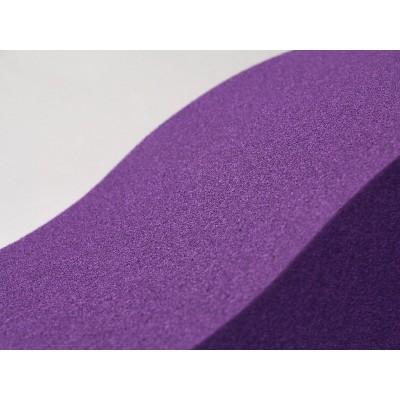 Detalle del panel acustico fonoabsorbente EliAcoustic Surf Pure Purple