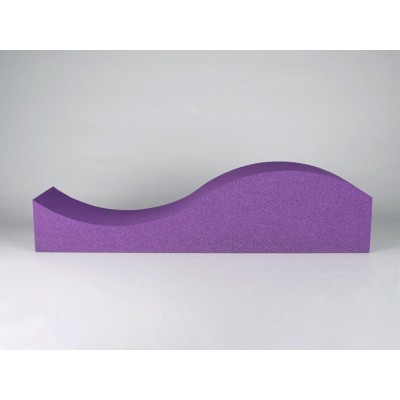 Panel acustico de forma de ola EliAcoustic Surf Pure Purple