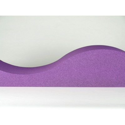 Paneles acusticos de colores para home cinemas EliAcoustic Surf Pure Purple