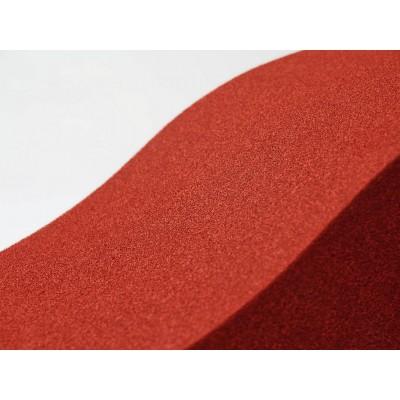 Detalle de colores de paneles fonoabsorbentes EliAcoustic Surf Pure Red