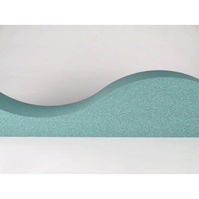 Paneles fonoabsorbenes para home estudios y estudios de grabacion EliAcoustic Surf Pure Turquoise