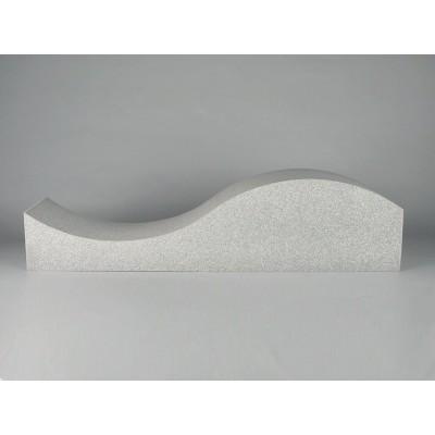 Paneles fonoabsorbentes para mejorar la acústica en salas de musica hi-end. EliAcoustic Surf Pure White