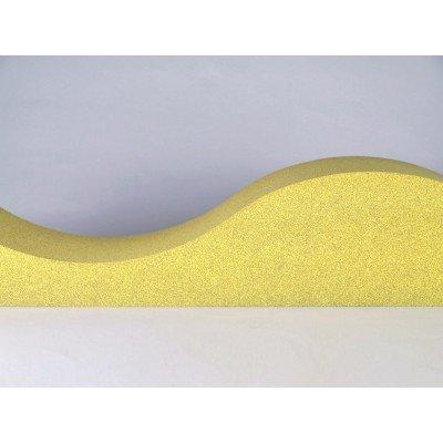 Lateral fonoabsorbente de los paneles acusticos para reducir ruido Eliacoustic Surf Pure Yellow