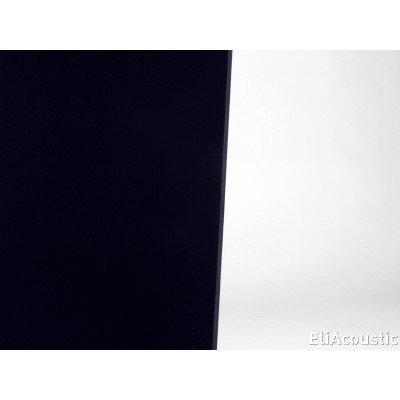 detalle textil del panel acustico EliAcoustic Curve Premiere black