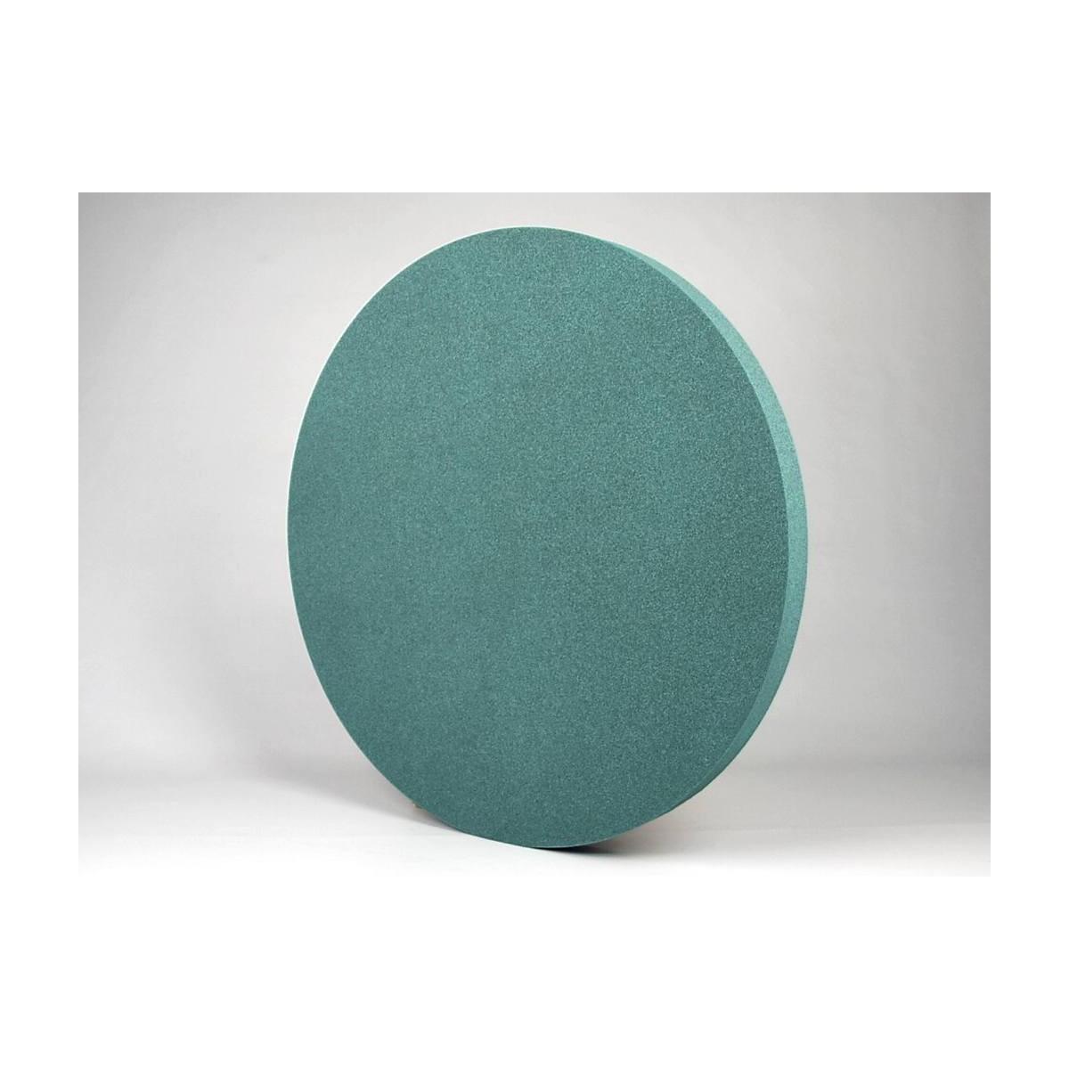 Panel Acustico EliAcoustic CIrcle Turquoise para reducir ruido y reverberacion