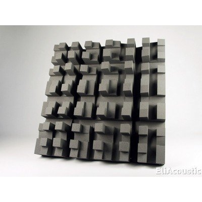 Eliacoustic fussor 3d pure dark grey