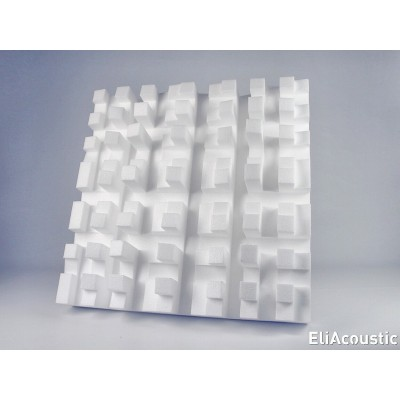 EliAcoustic Fussor 3D Pure White
