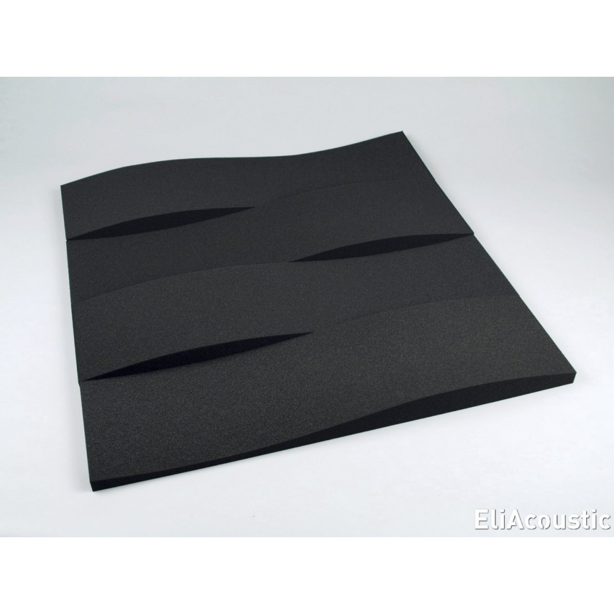 EliAcoustic Curve Slim Pure Dark Grey