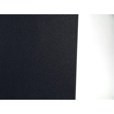 detalle del color del panel acustico eliacoustic curve pure black