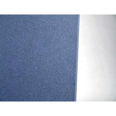 detalle de color del panel acustico eliacoustic curve pure dark blue