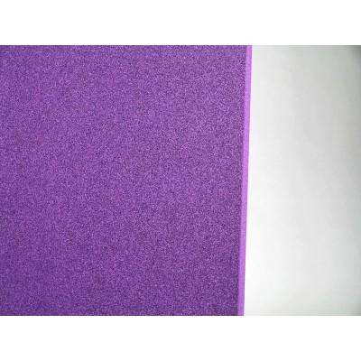 detalle de color del panel eliacoustic curve pure purple