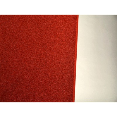 detalle color rojo del panel eliacoustic curve pure red