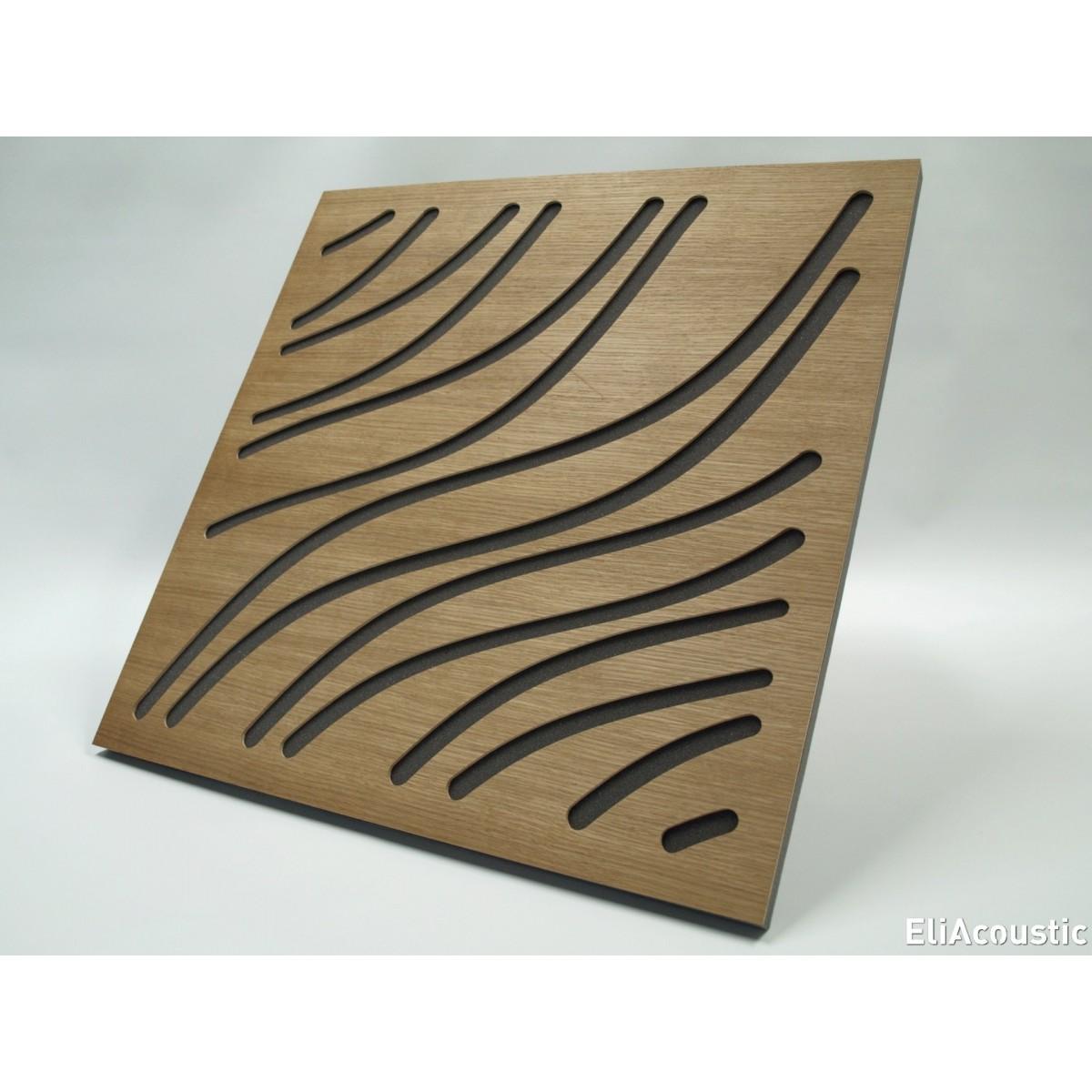 panel acustico de madera EliAcoustic Marine Slim Luxury.