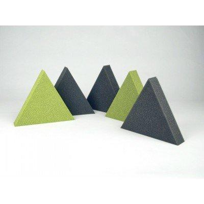 Paneles acusticos con forma de triangulo EliAcoustic Summit pure