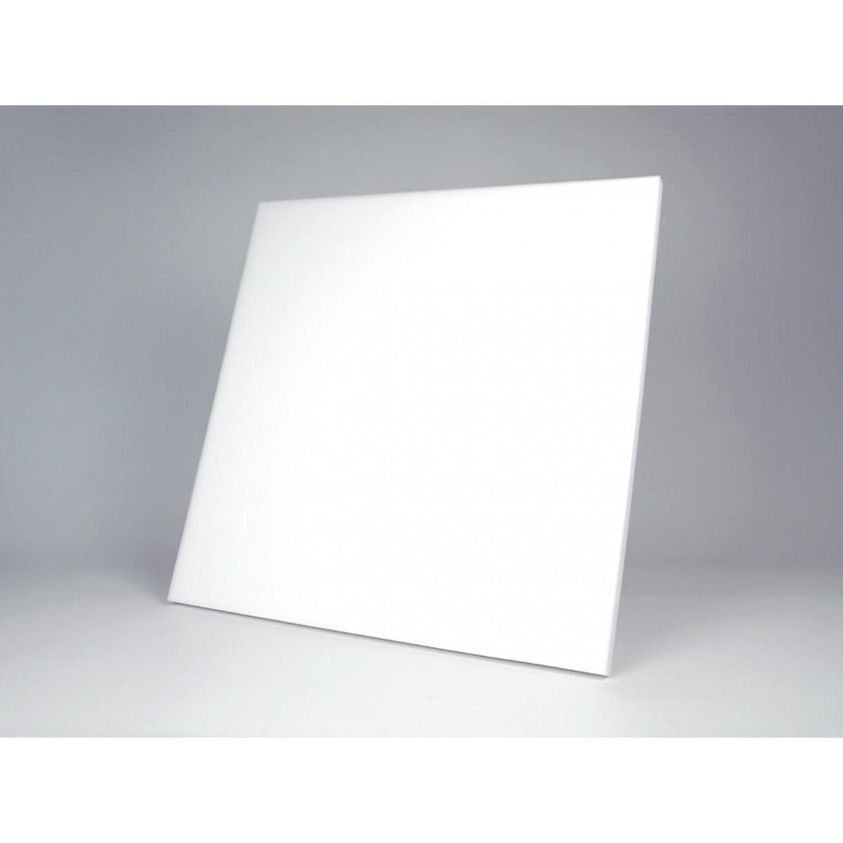 Panel acustico basotec white fabricado con espuma de resina de melamina en color blanco