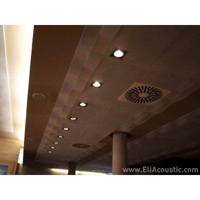 Reducir ruido en restaurante con paneles acusticos decorativos