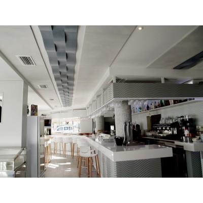 Reducir ruido en restaurante con paneles acusticos eliacoustic