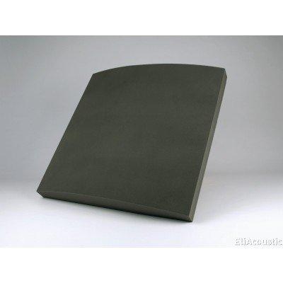 panel acustico fonoabsorbente para cine en casa y salas hi-end. EliAcoustic Curve Premiere Dark Grey
