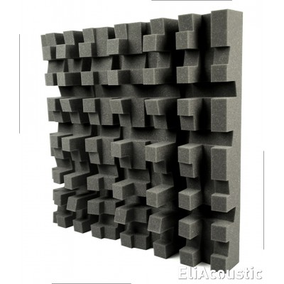 Panel acustico EliAcoustic Mooring. Fabricado con espuma acústica fonoabsorbente