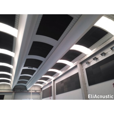 EliAcoustic Regular 120.4 First. Panel tipo baffle acustico de espuma acustica.