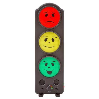 semaforo de ruido para medir los niveles de decibelios en aulas, restaurantes, comedores, colegios, hospitales, salas de espera