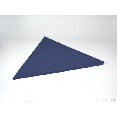 Panel Acustico EliAcoustic Flag Slim Pure con forma de triangulo