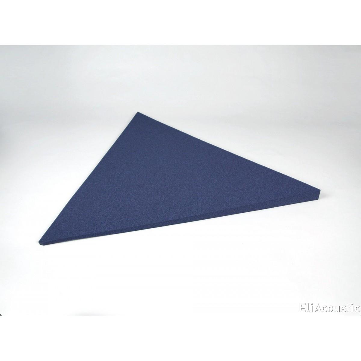 Panel Acustico EliAcoustic Flag Slim Pure con forma de triangulo