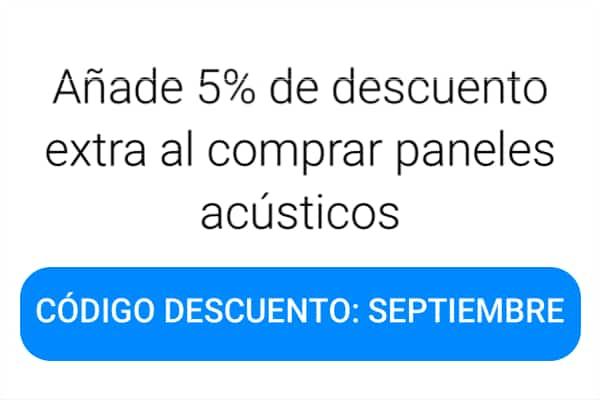 Descuento extra 5% septiembre
