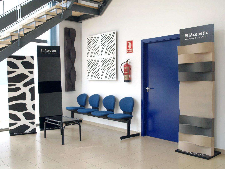 Materiales Acusticos showroom