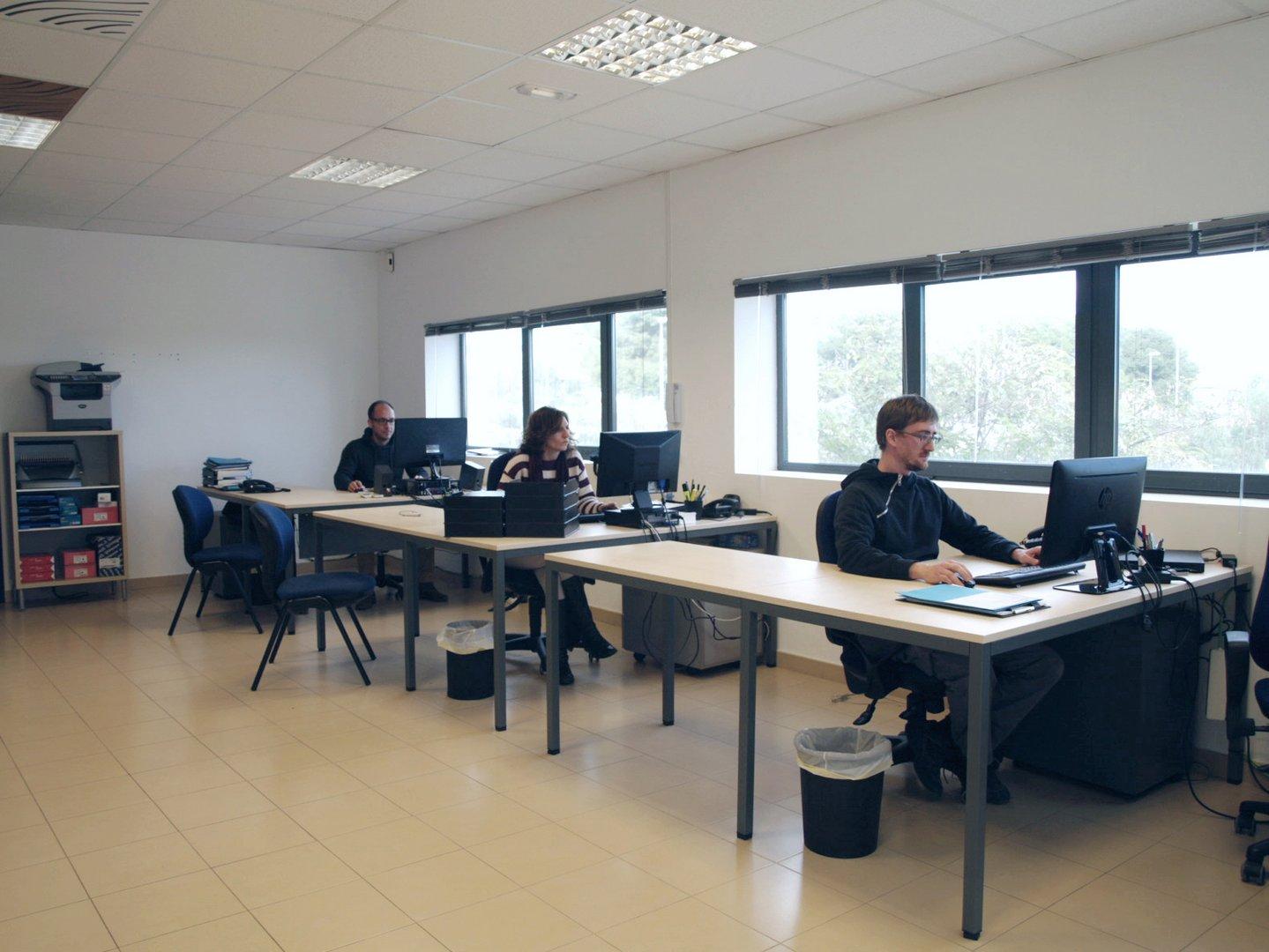 Materiales Acusticos equipo tecnico oficinas