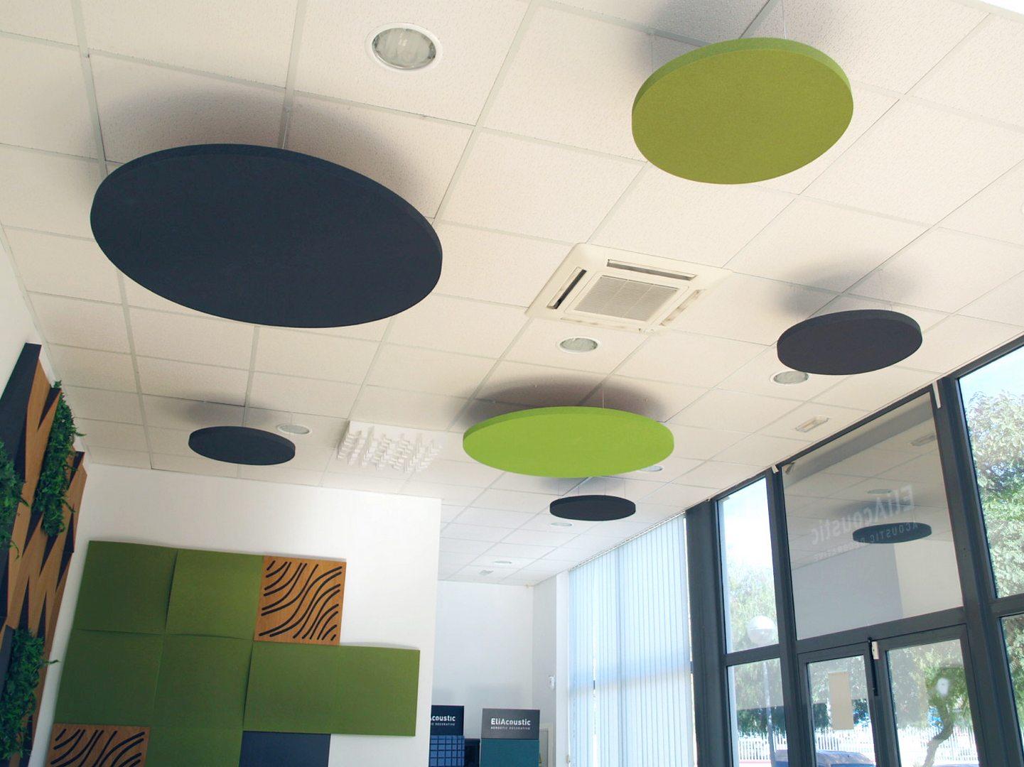 Circulos acusticos en techo