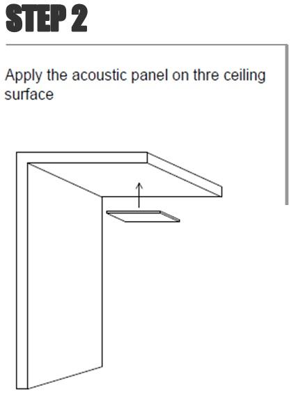 Colocar el panel en su posición definitiva.
